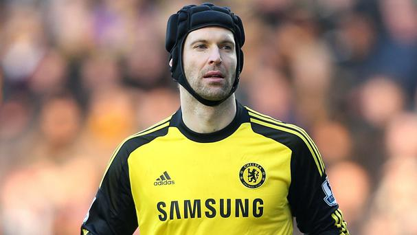 Petr Cech has two years remaining on his Chelsea contract