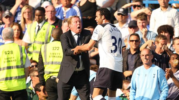 QPR boss Harry Redknapp, left, has been reunited with Sandro