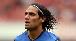 Radamel Falcao has been brought in to pep up Manchester United
