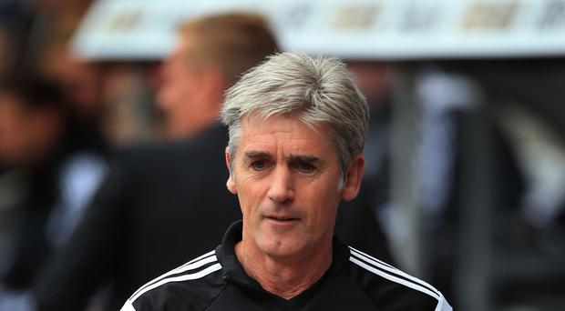 Chairman Jeremy Peace is pleased with the business West Brom have done under Alan Irvine, pictured