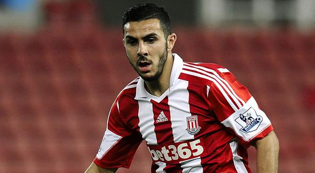 Oussama Assaidi will have to be patient on his Stoke return