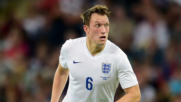 Phil Jones sustained an injury in England's victory over Switzerland