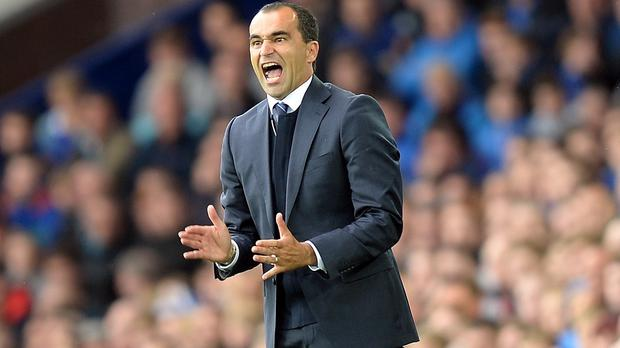 Roberto Martinez battles a familiar face at the weekend