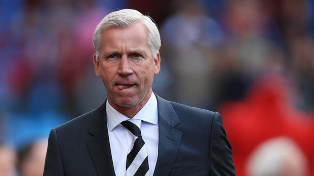 Alan Pardew signed an eight-year contract at Newcastle in 2012