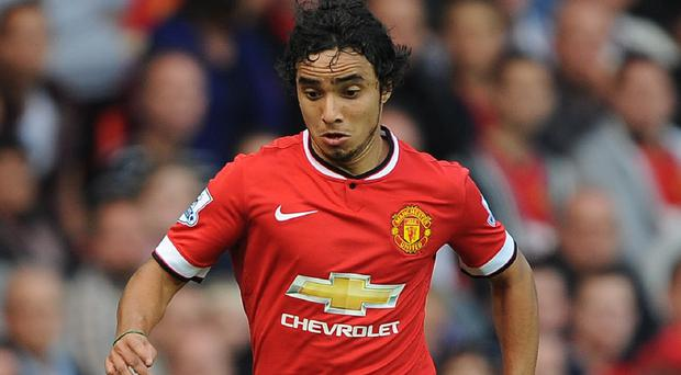Manchester United's Rafael is out for the season