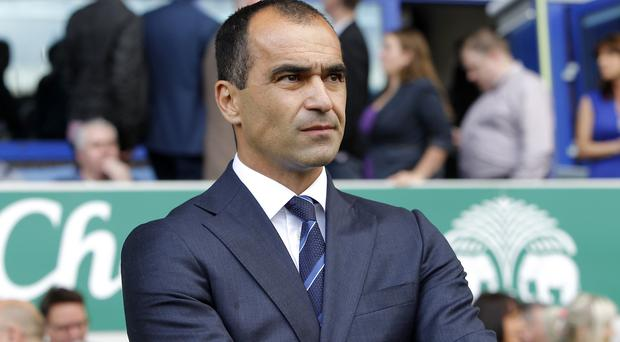 Roberto Martinez's Everton have had an indifferent start to the season