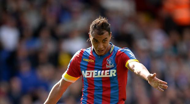 Striker Marouane Chamakh is available again when Crystal Palace take on Leicester