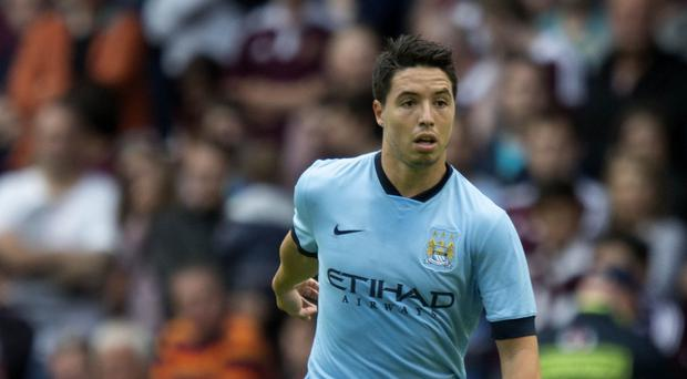 Samir Nasri could be sidelined for a month