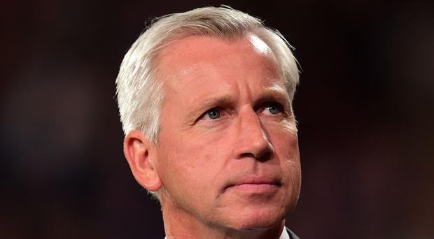 Newcastle manager Alan Pardew has laughed off comments from owner Mike Ashley