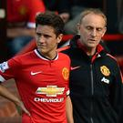 Manchester United's Ander Herrera faces a spell on the sidelines