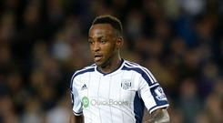 Saido Berahino's goal against Manchester United was his sixth league strike of the season