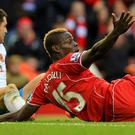 Liverpool striker Mario Balotelli was unable to find the net once again against Hull on Saturday
