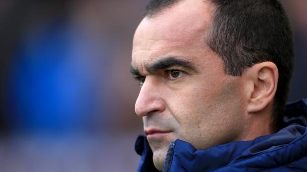 Everton manager Roberto Martinez has four key players missing