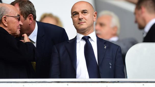 Tottenham chairman Daniel Levy has come under fire over the club's poor run of form