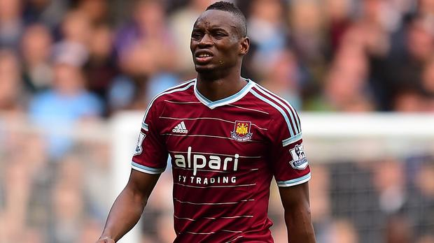 Diafra Sakho is struggling with a back injury
