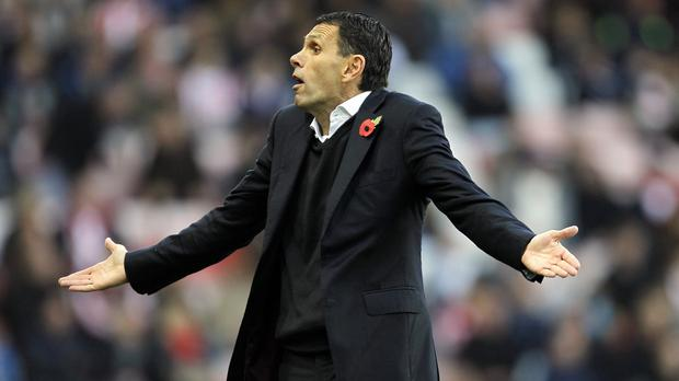 Gus Poyet's men head to Leicester on Saturday