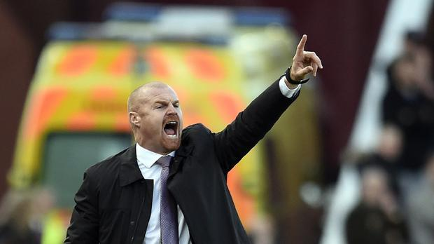 Burnley's manager Sean Dyche was proud of his side's display against Stoke