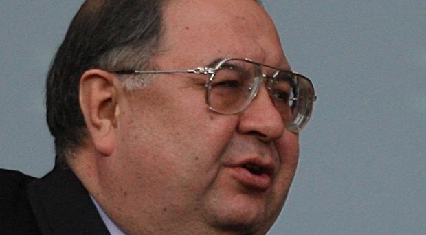 Arsenal shareholder Alisher Usmanov