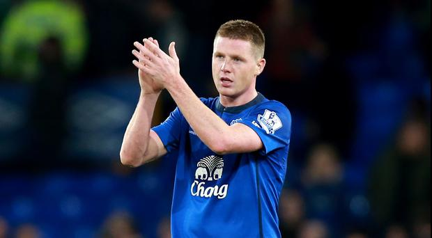 James McCarthy will be staying at Everton, according to Martinez