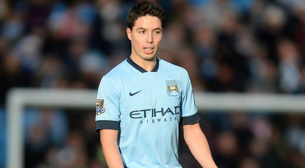 Manchester City's Samir Nasri admits he can sometimes be a