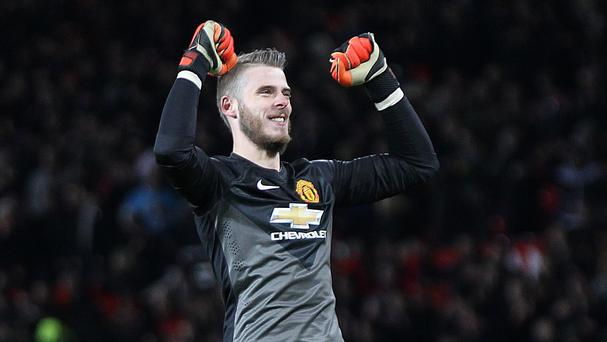 David de Gea's contract with Manchester United expires at the end of next season