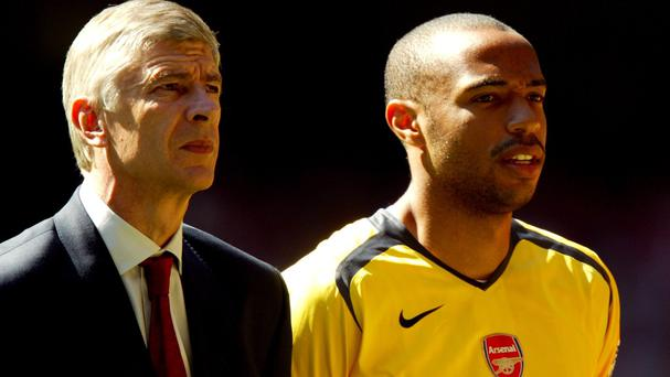 'Thierry Henry's belief that Arsenal and Wenger