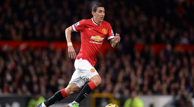 Angel di Maria was having dinner with his wife and young daughter when raiders tried to smash into his home