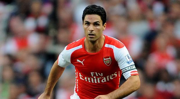Mikel Arteta is out of contract this summer