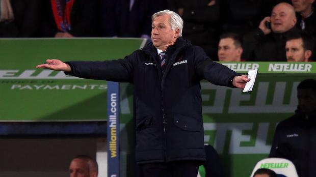 Alan Pardew wants to see hunger from his Crystal Palace side