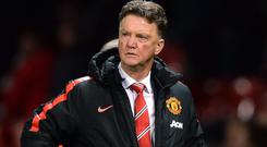 Manchester United manager Louis van Gaal oversaw a third away win of the campaign on Saturday