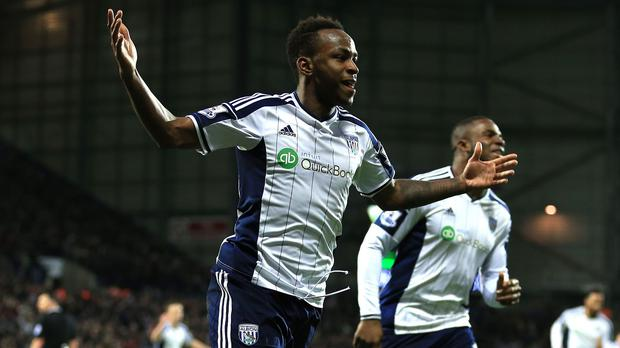West Brom chairman Jeremy Peace has reiterated he expects Saido Berahino, pictured, to stay with the club