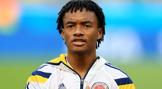 Colombian international and Fiorentina star Juan Cuadrado is expected to join Chelsea today.