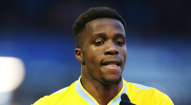 Wilfried Zaha has signed a five-and-a-half-year deal with Crystal Palace