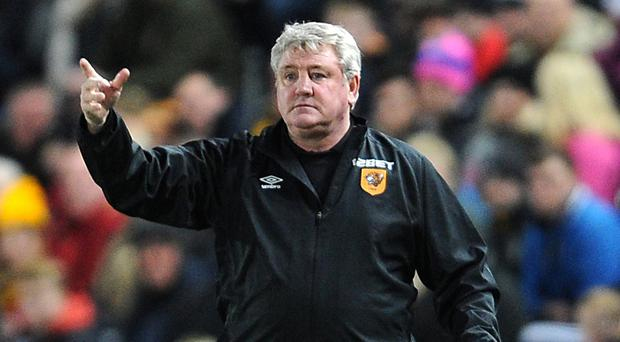 Steve Bruce, pictured, was able to add Senegal striker Dame N'Doye to his squad in the final moments of the transfer window