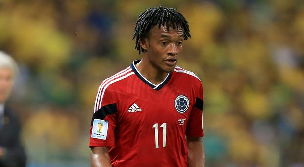 Chelsea's new recruit Juan Cuadrado is said to have cost up to £26.8million