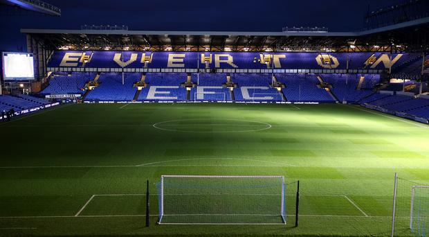 Everton will play Liverpool at Goodison Park this weekend