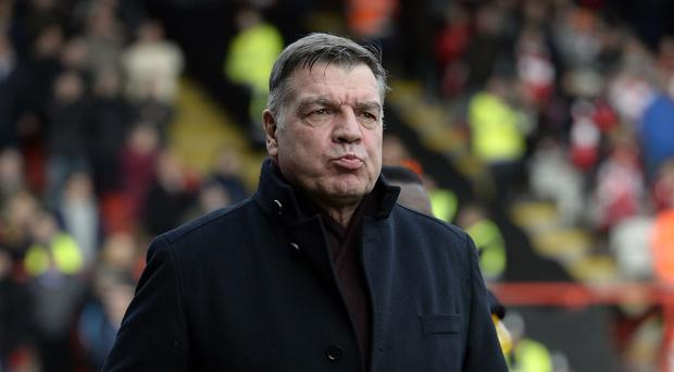 West Ham manager Sam Allardyce is facing a shortage of defensive players