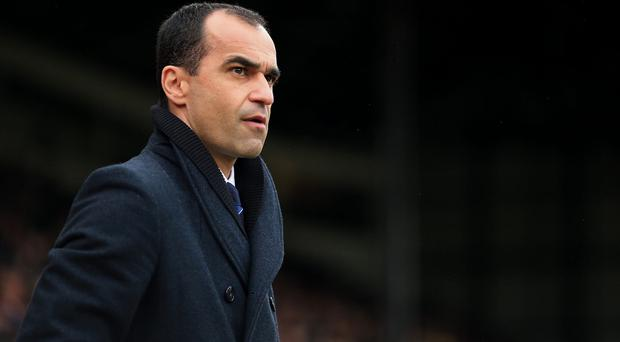 Everton boss Roberto Martinez is looking for his first Merseyside derby victory