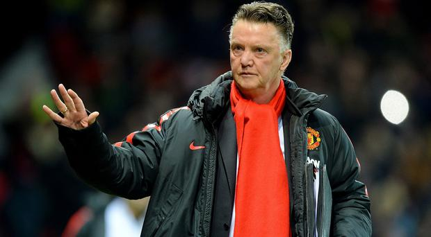 Louis van Gaal, pictured, has taken exception to Sam Allardyce's accusations