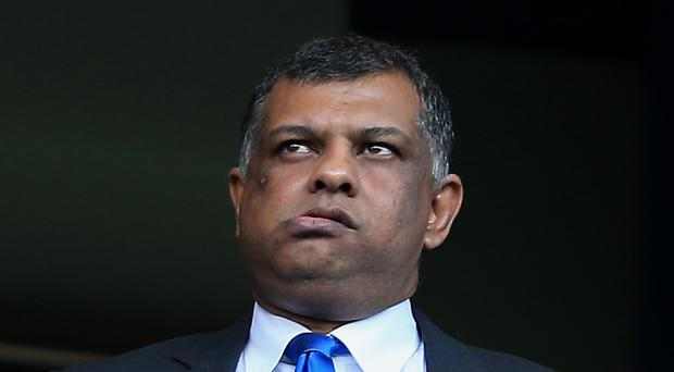 QPR chairman Tony Fernandes has said he is ready to announce his