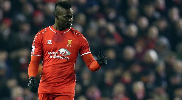 Liverpool goalscorer Mario Balotelli, pictured, was praised by assistant manager Colin Pascoe