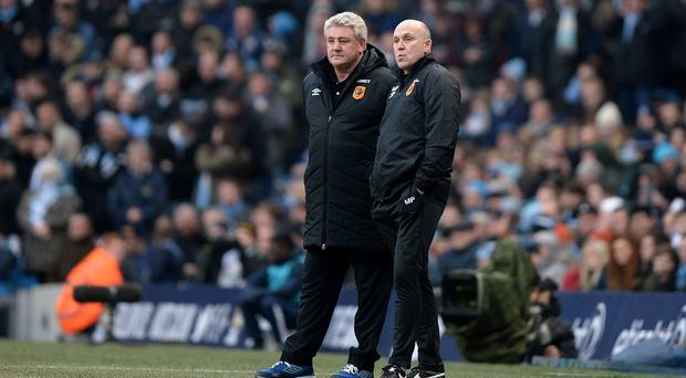 The arrival of Mike Phelan, right, has provided a lift to Hull