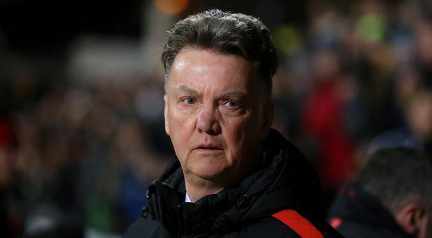 Manchester United manager Louis van Gaal is worried by the prospect of losing the support of some fans