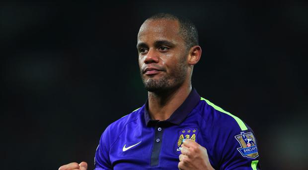 Manchester City captain Vincent Kompany is full of belief