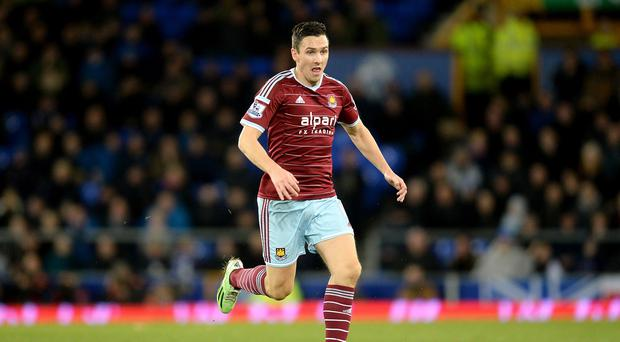 Stewart Downing wants to see West Ham in Europe next season