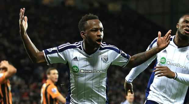 Saido Berahino, pictured left, has scored 15 goals for West Brom this season
