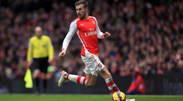 Arsenal's Aaron Ramsey continues to be plagued by injury