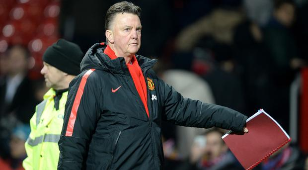 Louis van Gaal's team are third in the Premier League but he still has received criticism this season