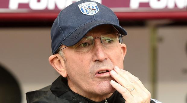 Tony Pulis, pictured, had hoped to sign Carlton Cole on deadline day