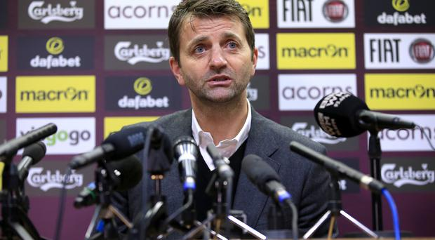 Tim Sherwood will take charge of Aston Villa for the first time on Saturday